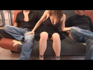 Naturaltits Cocksucking video: Babe Is Done By Two Guys Then Another One On One Starts Up- Java Productions