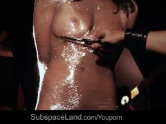 Picture Dolly Diore wrapped in plastic, whipped and...