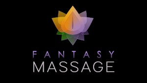 FantasyMassage Siri slides Tits and Pussy on Big Dick