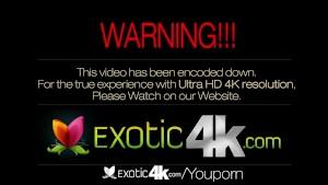 4K Exotic4K - Latina Jade Jantzen oiled-up for poolside sex