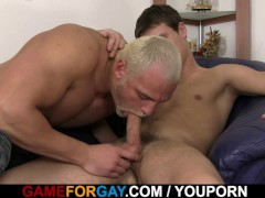 Straight honey rides massive gay cock