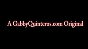 Spicy Mexican MILF Gabby Quinteros Loves BBC