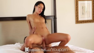 HD Passion-HD - Sabrina Banks masturbates and her man takes over