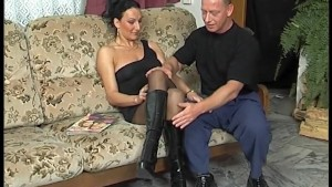 Fucked In Nylons And Boots