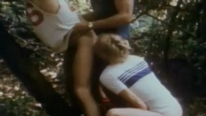 Forest Threeway from Classic Porn JUST BLONDS (1979)