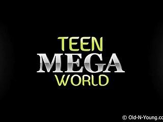Old Man Oldyoung Teen video: Teen & A Grandpa