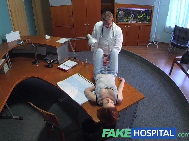 doctor makes cum