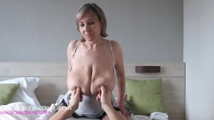 Compilation of hanging breasts