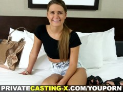 Private Casting X - Hottie loves it wild and rough