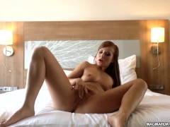MAGMA FILM Sexy Czech Bella Baby cums solo