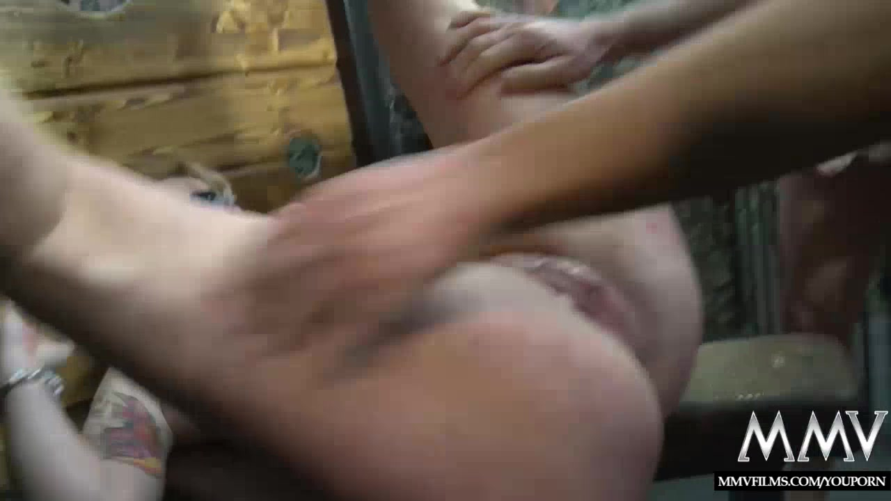 MMV FILMS German Gangbang in a