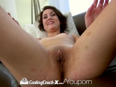 Picture CastingCouch-X - Petite Renee Roulette takes...