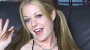 Haley Scott anally creampied