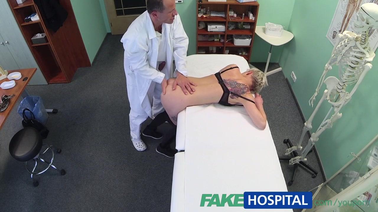 FakeHospital Blonde tattoo bab