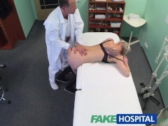 blonde tatouage nana nique baise severe docteur: fakehospital blonde tattoo babe fucked hard by her doctor