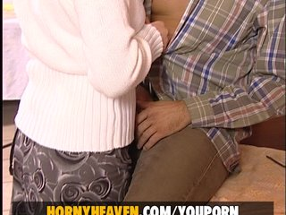 Blonde Blowjob Cumshots video: Valerie fucked by her betrayed lover
