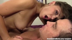 Olivia s Oiled Up Ass Gets Tapped!