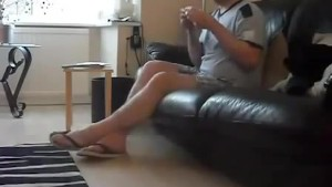 Sneezing Ian's Sneezing and Flip Flops Fetish Video (65)