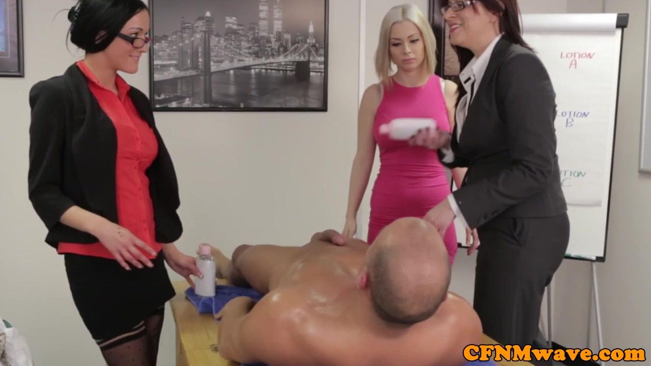 Office femdom affair with Chan