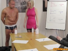 Picture Office femdom affair with Chantelle Fox