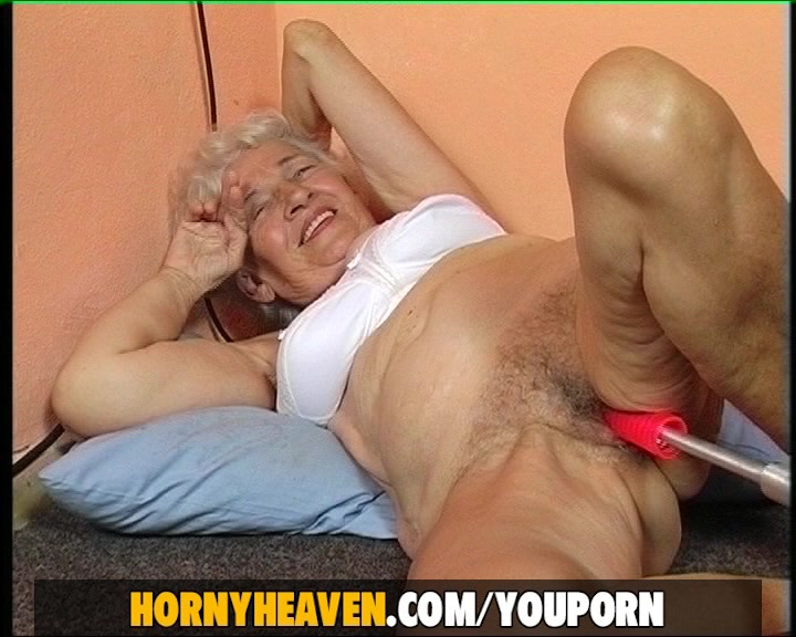 77 year old Grandma scewed wit