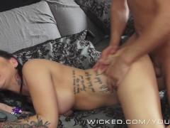 Picture Wicked - Inked angel Karmen Karma gets pound...