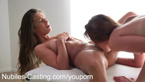 Nubiles Casting Shy cuties first porn audition