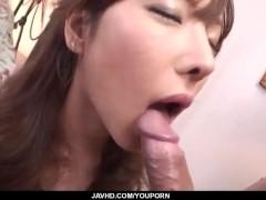 SweetSerina Hayakawa loves to suck and swallow