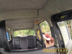 FakeTaxi Redhead from the Netherlands likes it rough