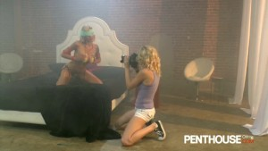 Penthouse - Two hot blondes screw