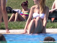 Picture Sexy Bikini Hot babes Wet Cameltoe