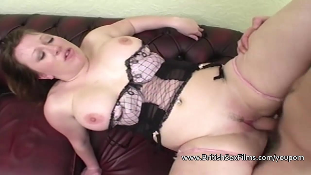 Chubby girlfriend assfucked by