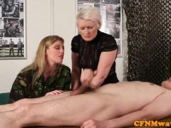 Movie:Femdom army milf Holly Kiss tu...