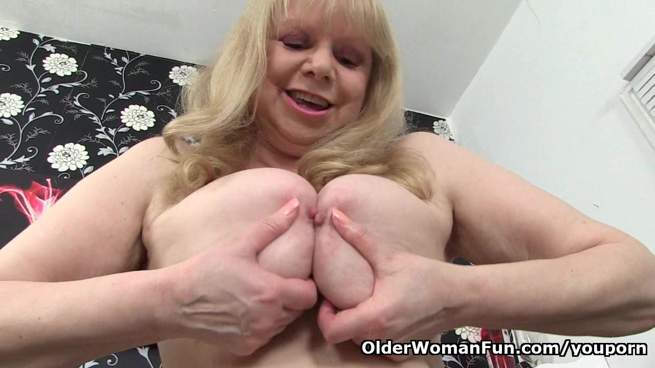 British granny with big tits i