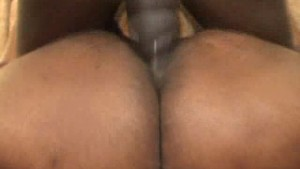 Ebony BBW Honey Gets Jizzed In The Mouth