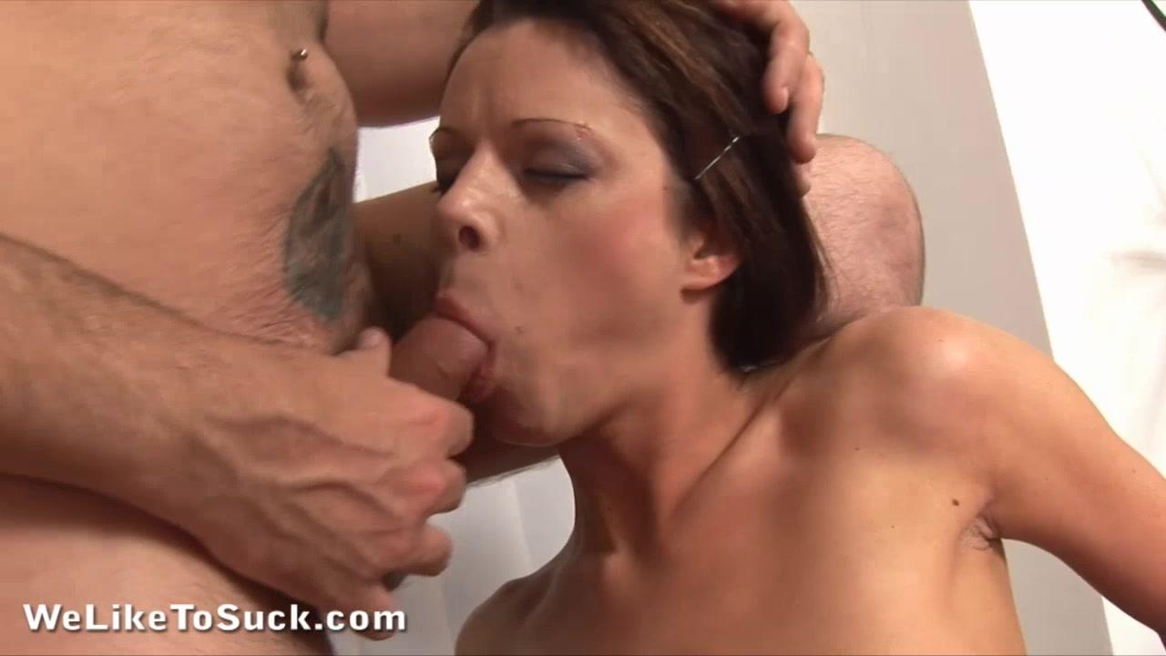 Piss and cum in her ass