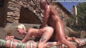 Raunchy chick gets boned