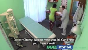 FakeHospital English beauty sucks and fucks for free healthcare