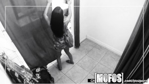 Mofos - Teen gets caught fucking in the changing room