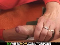 My wifes mother fucks me