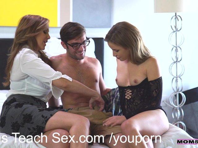 Step Mom Teaches Sex Son Pov