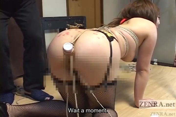 Curvy Japanese woman with nose