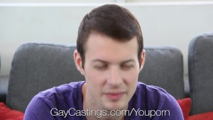 GayCastings - Jock with pierced nipples fucked hard on casting couch