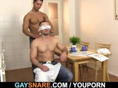 Picture Gay sucks and fucks hetero hunk