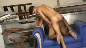 Muscular Latino Anal Fucking And Cumming