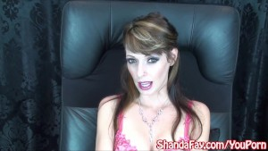 Kinky Milf Shanda Fay Shows You How To Stroke & Suck It Out!