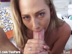Picture EvilAngel Carter Has Cum for Dinner After As...
