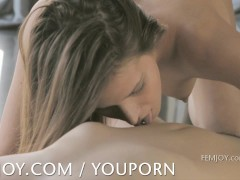 Picture Soft and intimate lesbian compilation from F...