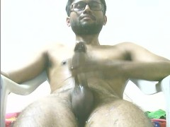 So horny cant control my BBC to cum