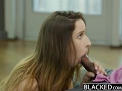 BLACKED Busty brunette Ashley Adams first BBC